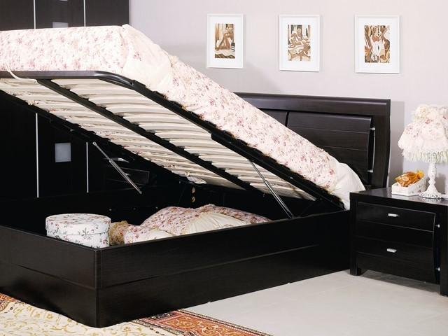 wooden storage beds 1
