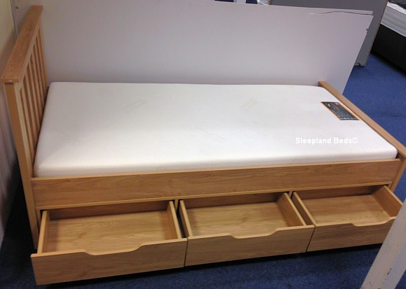 single beds with storage and mattress 2