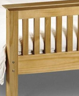 barcelona pine bed frame barcelona pine wooden bed frame - Pine Bed Frame