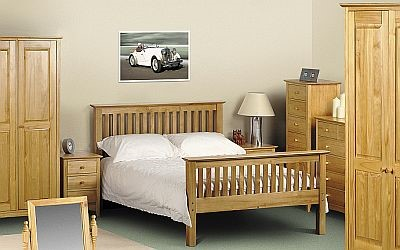Julian Bowen Kendal Solid Pine Bedroom Furniture - (Special Multi ...