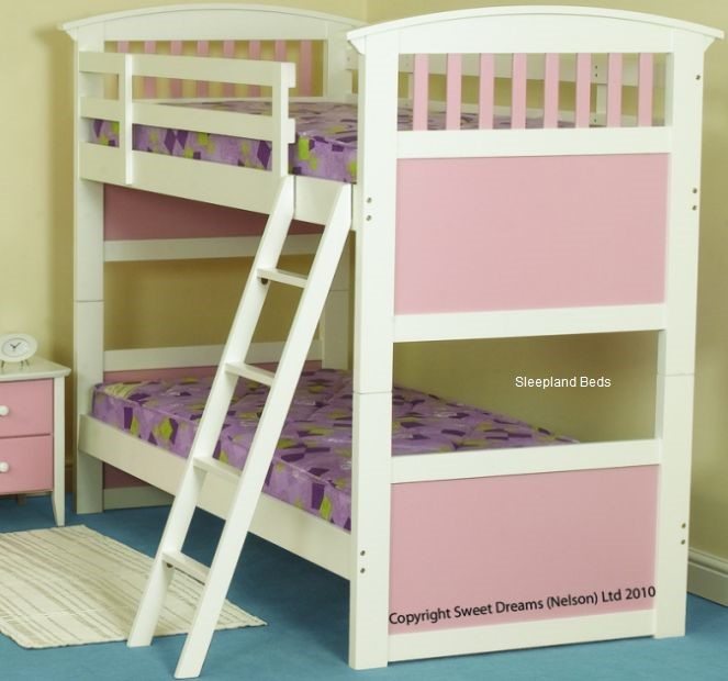 Bunks And Beds Uk The Anchorage Bunk Bed In A Stone White Finish