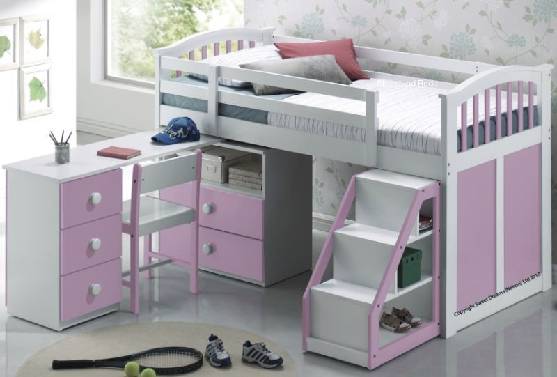 Sweet Dreams Pink Ruby Cabin Bed ...