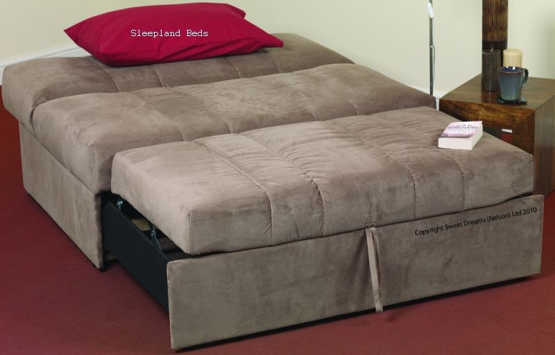 The Sofa Has A Simple Pull Out Action Quickly Converting Into A Double Bed For Your Guests