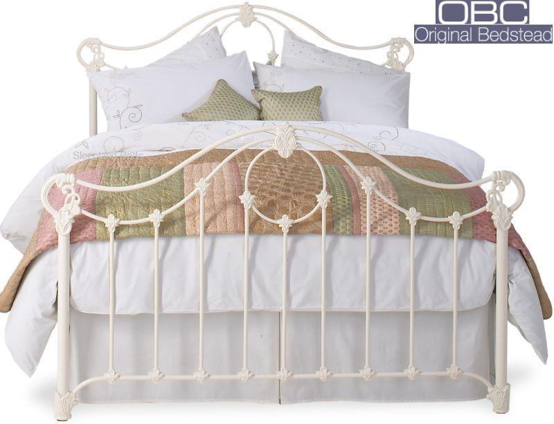 Original Bedstead Alva 6ft Super Kingsize Metal Bed Frame Cast Iron