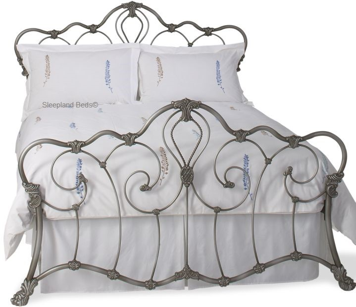 Original Bedstead Company Athalone Gold OBC Silver Cast Iron Bronze