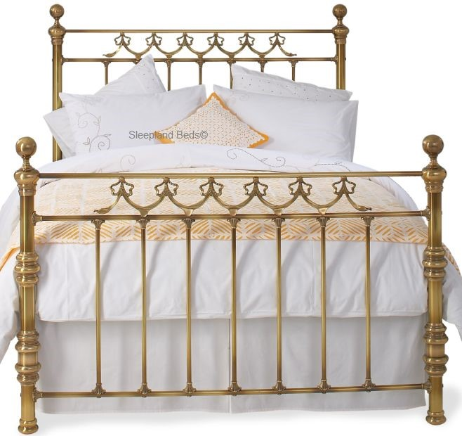 Original Bedsteads Braemore Brass Or Nickel Bed Frame - 5ft Kingsize