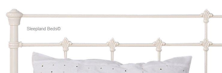 0c7b2e10b9e1 OBC Edwardian Metal Bed Frame - 4ft 6