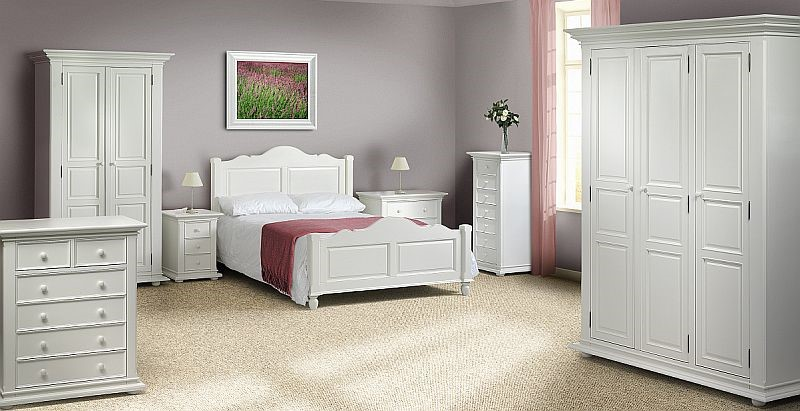 Julian Bowen Josephine White Bedroom Furniture Multi Buy