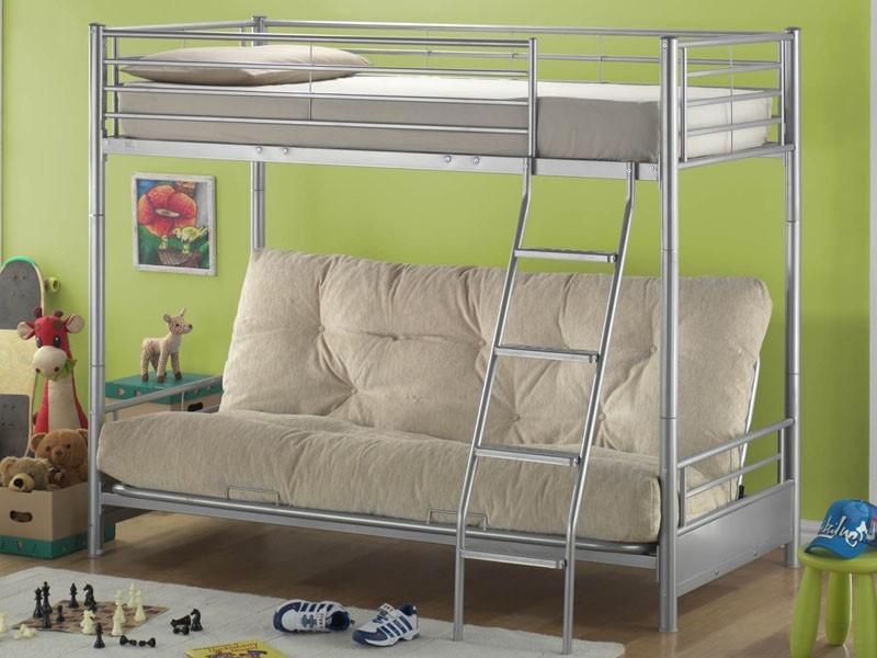 Joseph Futon Bunk Bed High Sleeper With Double Futon