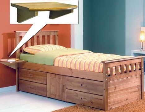 Pine Storage Bed Pine Captains Storage Bed & Verona Pine Captains Ferrara Storage Bed - Single Pine Captains ...