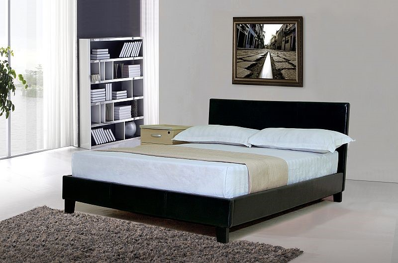 byron bed frame by sleepland gallery of king size - King Size Black Bed Frame