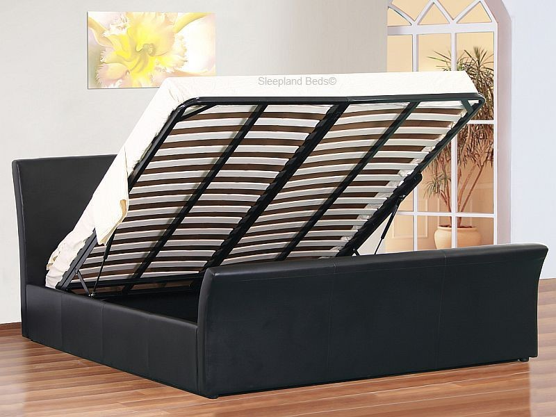 Davinci Small Double Ottoman Sleigh Bed Small Double Ottoman Bed With  Storage ...