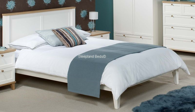 Boston Cottage White And Ash Bedroom Furniture Multi buy Offer
