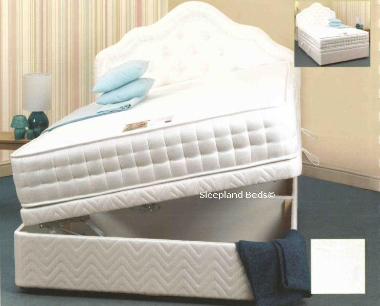 ... Softer Memory Foam Pocket Ottoman Divan Bed Set Sweet Dreams Ottoman  Storage ... - Soft Memory Foam Ottoman Storage Divan Bed - 5ft Kingsize Tranquility
