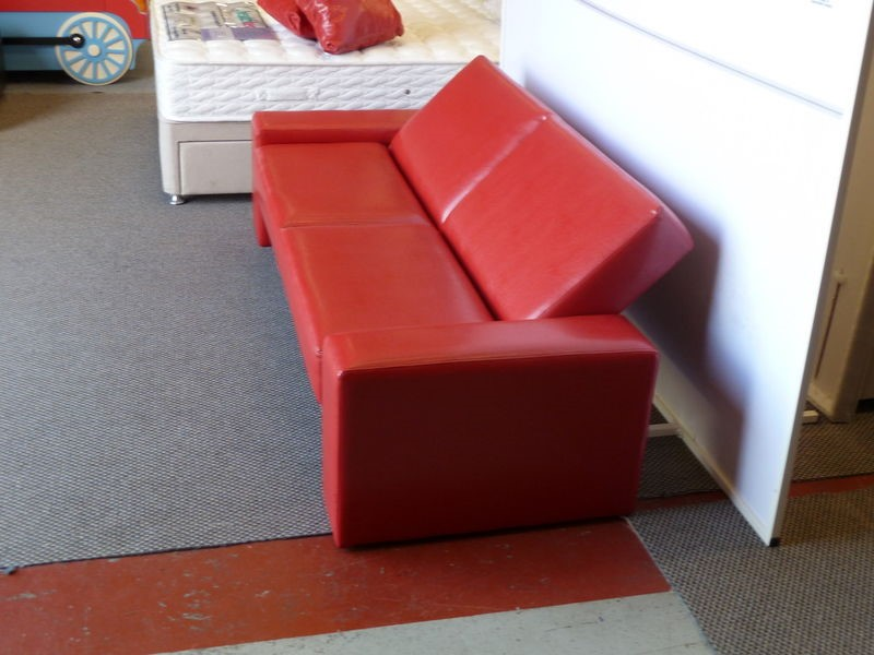 leather sofa bed for sale. Click Clack Red Sofa Beds Leather Bed For Sale