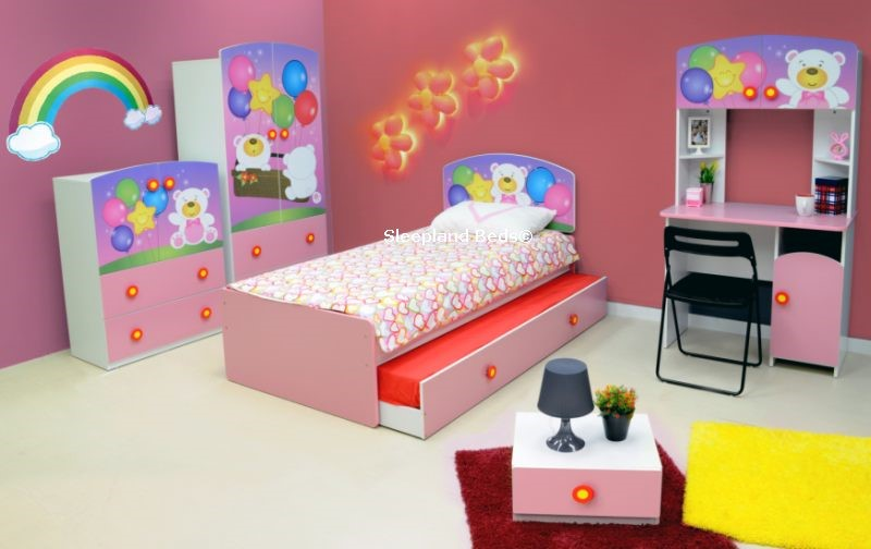 High Quality Pink Bear Bed And Bedroom Furniture Set ... Amazing Design