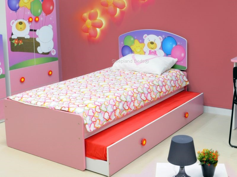 Childrens Beds cots design roller bed nursery carpet yellow wall. dorel skyler