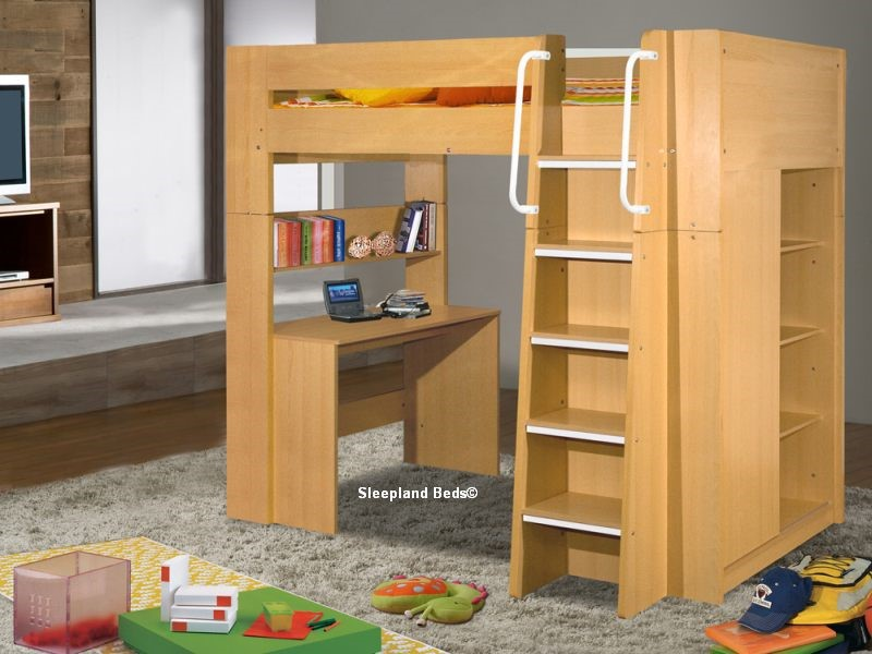 Childrens London High Sleeper Bed