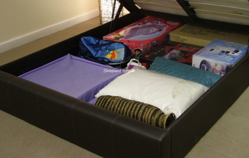 ... Small Double Ottoman Storage Bed ...