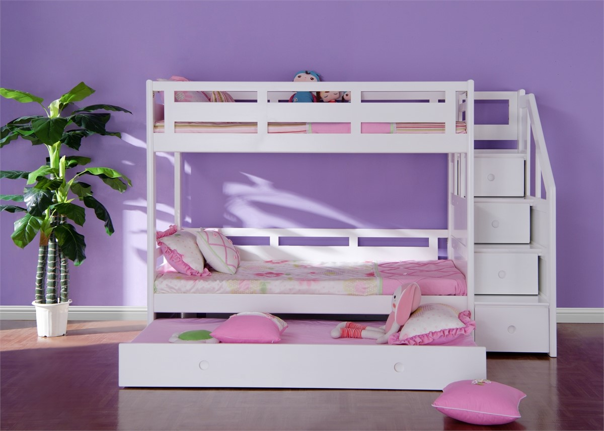 projects bunk ana with white sweet classic pea stairs bed diy