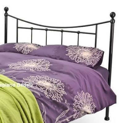 Bristol Metal Bed Frame 4ft Small Double Black Bed Frame