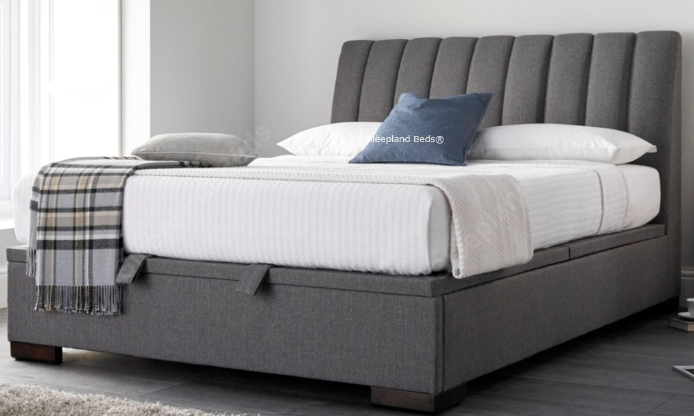 b4939ea930d7 Kaydian Lanchester Ottoman Bed Double Lanchester Ottoman Bed By Kaydian  Lanchester Elephant Grey ...