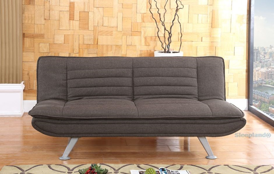 Cool Sweet Dreams Denver Sofa Bed In Brown Fabric Sleepland Beds Complete Home Design Collection Barbaintelli Responsecom