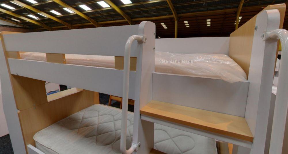 Bunk Beds With Desk Bunks With Workstation Desk At Sleepland Beds