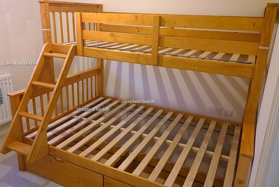 Supersonic Triple Bunk Bed Sleepland Beds