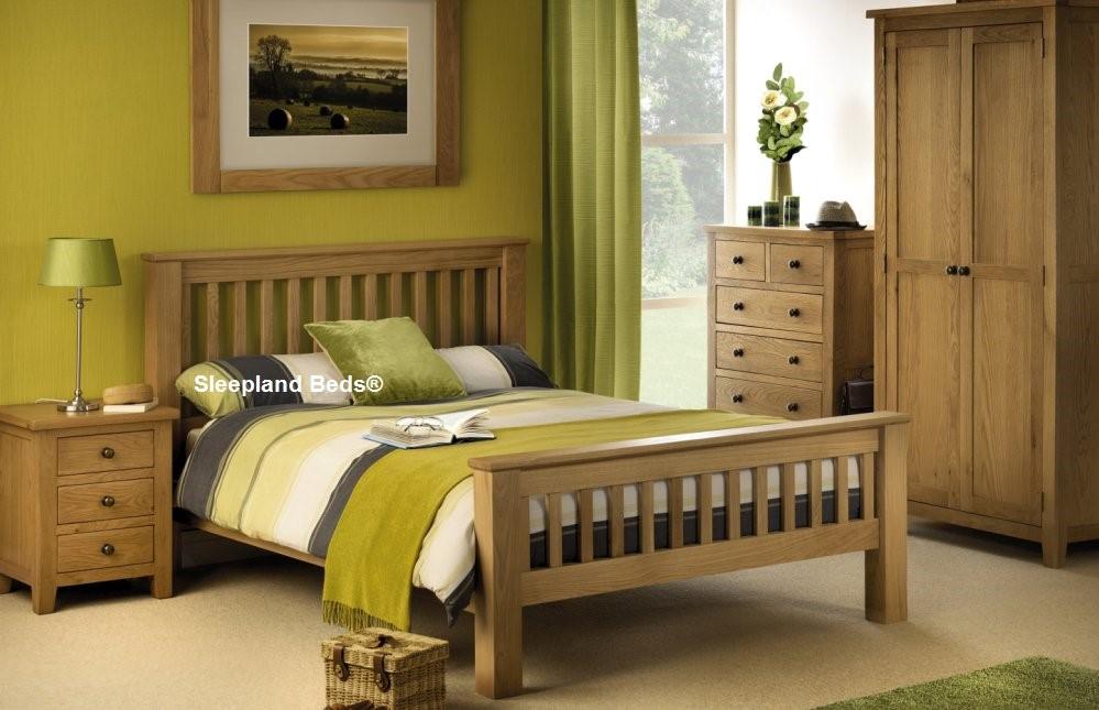 White Oak Mabrella Bedroom Furniture, White Oak Bedroom Furniture Uk