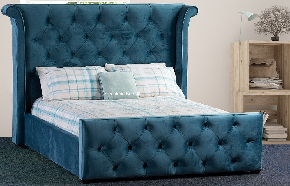 uk availability d6ebe 22346 Imogen Fabric Bed Frame By Sweet Dreams - Fabric Choice ...