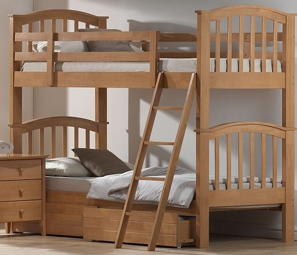 Joseph Bunk Bed With Two Superior Sprung Mattresses