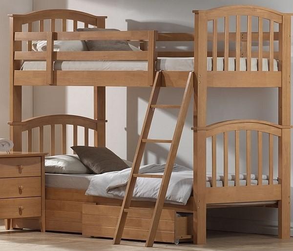 Joseph Maple Bunk Beds Sleepland Beds