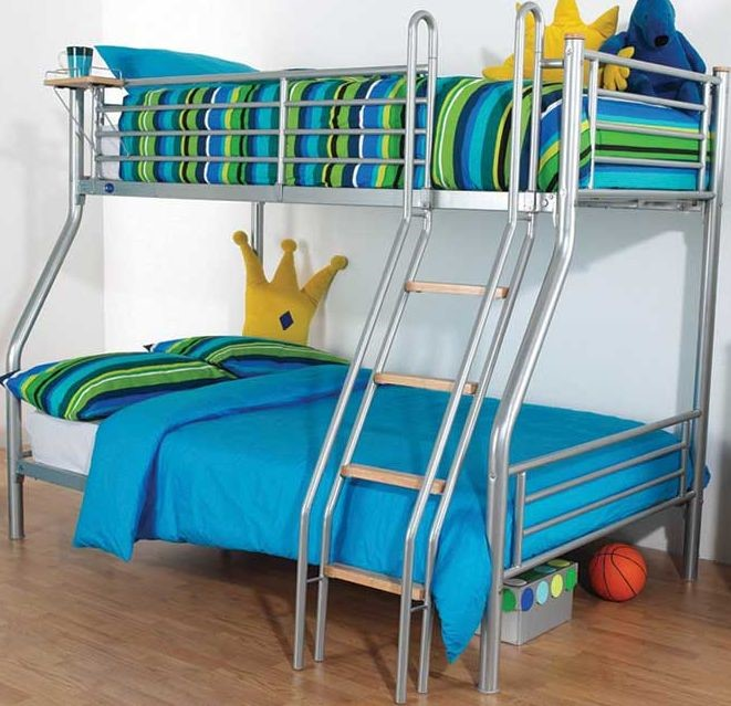 Hyder Beds G2 Galaxy Sleeper Double Metal Bunk Bed