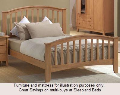 Super King Size Wooden Bed Frame Maple Super King Size Wooden Beds