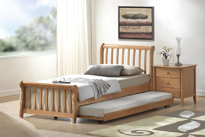 Joseph Leo Bed Frame With Trundle