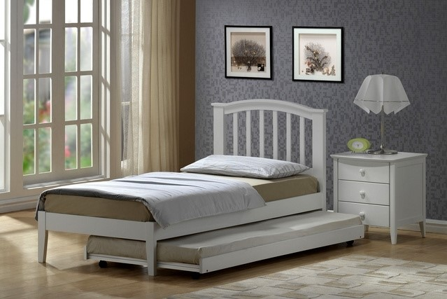 Joseph Lana Guest Bed White Bed Frame With Trundle