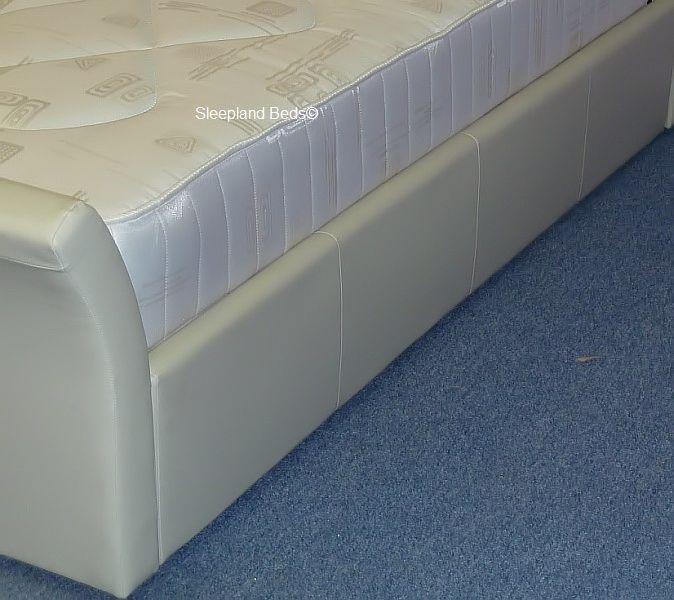 Davinci Sleigh Bed With Ottoman Storage6ft Super Kingsize