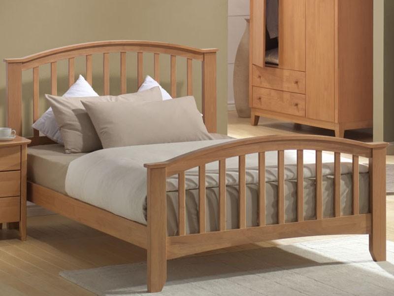 Joseph Elle Bed 6ft Super Kingsize Wooden Bed Frame
